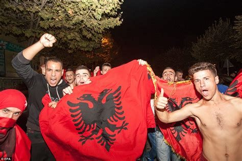 are albanians a race albania players had bags searched by serbian for
