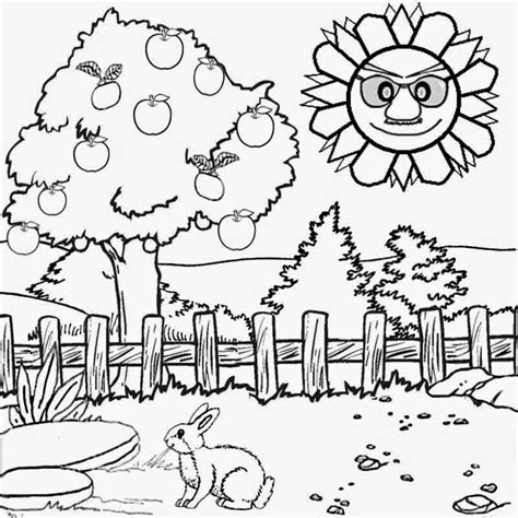 simple nature coloring pages free coloring pages printable pictures to color