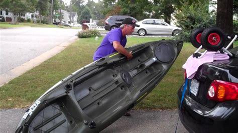 Kayak Carrier No Roof Rack by Loading Kayak Onto Roof Rack Kayak Cart