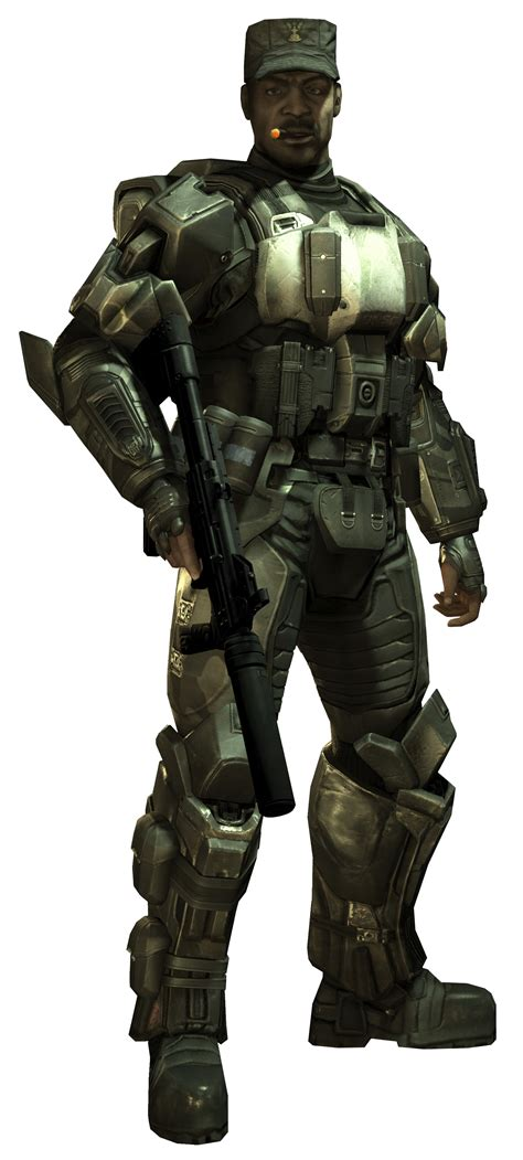 halo 3 halo nation the halo encyclopedia halo 1 image halo3 odst sgt johnson png halo nation the