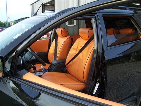 Custom Leather Upholstery Installation