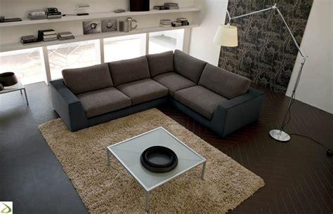 divani marroni tessuto divano componibile moderno gimmy arredo design