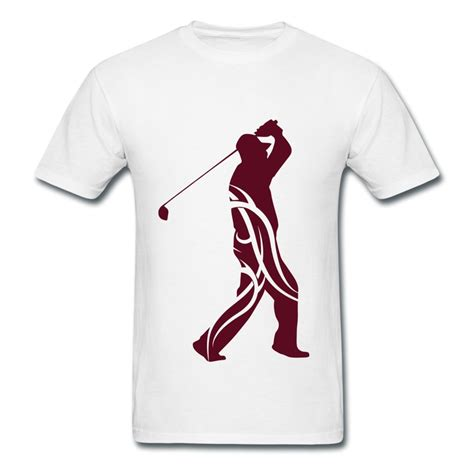 Tshirts Golf make own cotton mans shirt golf tribal picture tshirts for boy low price in t shirts