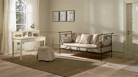 letto luigi filippo divano letto in ferro pieno lavorato a mano idfdesign