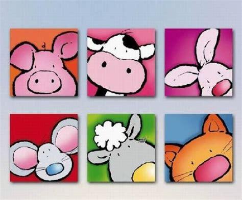 cuadros infantiles animales cuadros infantiles y sus colores