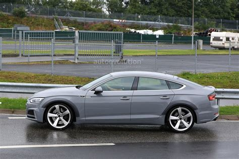 what is audi sportback spyshots 2018 audi rs5 sportback prototype s fender