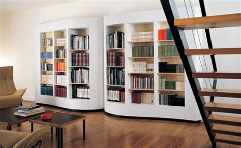 A Bookcase Shaped Like A Literary Literalism Bold Bookcase Shaped Like Book Pages