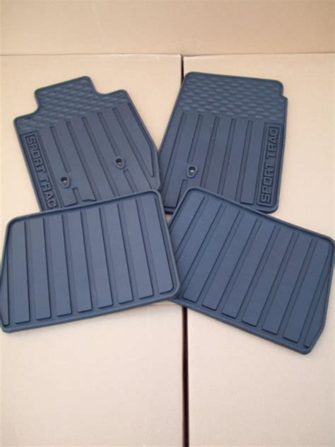 Sport Trac Floor Mats by 2007 2008 2009 2010 Ford Explorer Sport Trac All Weather