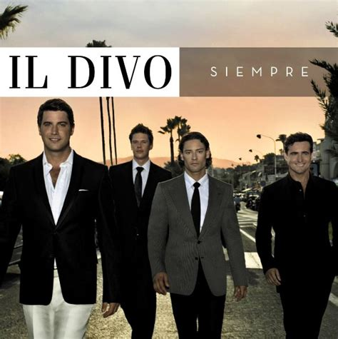 il divo cd list so much more il divo siempre 2006