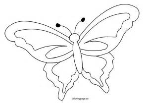butterfly template printable printable butterfly template coloring page