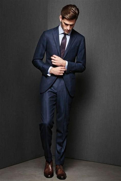 Blazer Pria Calvin conhe 231 a os tipos de corte de terno canal masculino