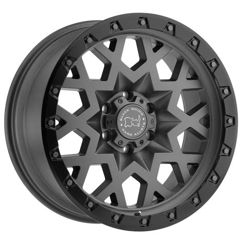 truck wheels sprocket truck rims by black rhino