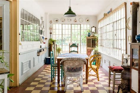 vintage dining room lighting a buenos aires home with a dreamy vintage dining room
