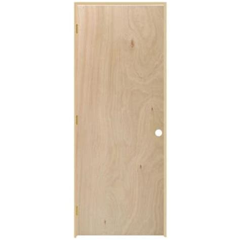 interior door frames home depot masonite 30 in x 80 in smooth flush hardwood hollow birch veneer composite single prehung