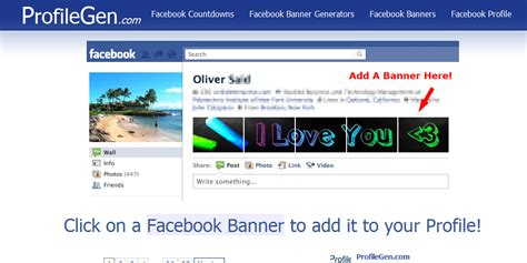 facebook banner themes ideas funny exles facebook profile banners craze html