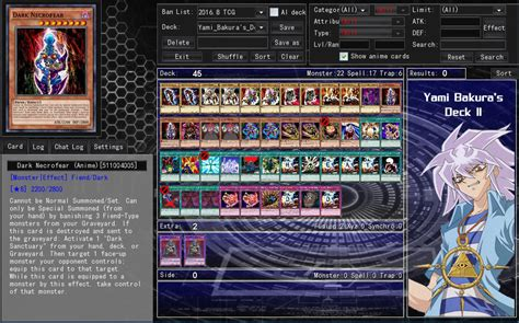 yugioh yami marik deck yami bakura s deck 2 by septimoangel12 on deviantart