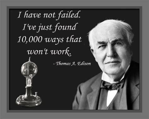 Printable Thomas Edison Quotes | thomas alva edison laminated print with one of his sayings