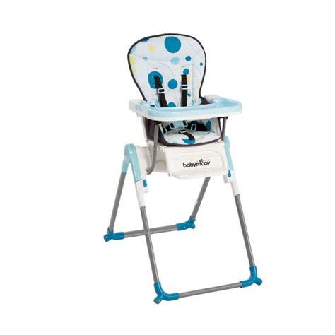 babymoov chaise haute slim bleue bleu turquoise achat