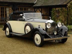 Rolls Royce 20 Hp Rolls Royce 20 25 Hp Drophead Coupe By 1934