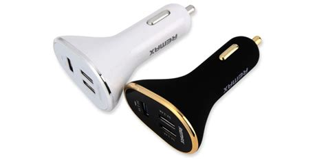 Remax Car Charger 3 Usb 6 3a Putih remax 3 port usb 6 3a car charger white free shipping