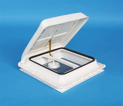 windable roof hatch cover vent  white