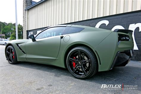 corvette c6 tire size chevrolet corvette custom wheels cray brickyard 20x et