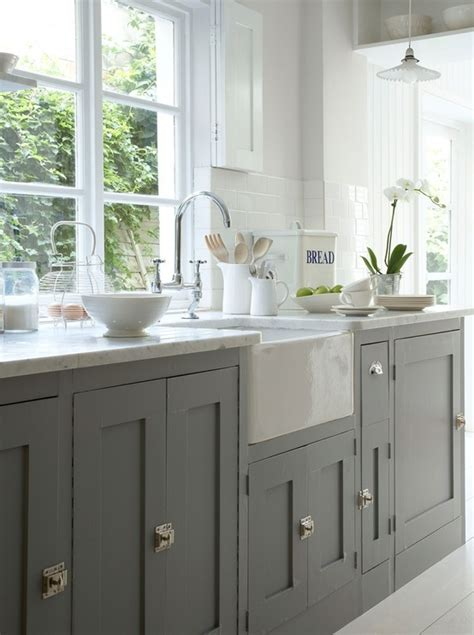 white kitchen cabinets with grey walls grey cabinets white walls kitchen ideas pinterest