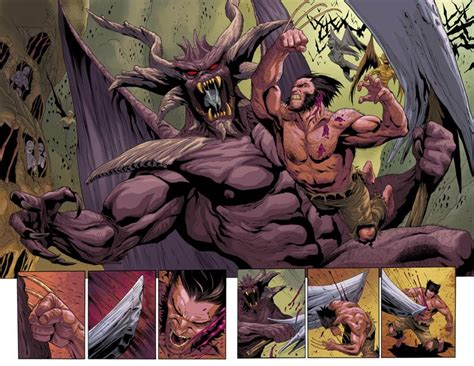 wolverine goes to hell exclusive a month of previews wolverine 4 the beat