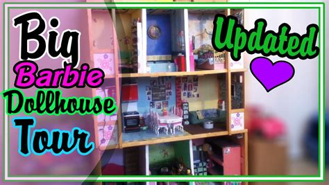 barbie doll house tour videos big barbie dollhouse tour updated sept youtube