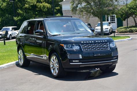 range rover autobiography black edition 2014 range rover autobiography black edition for sale