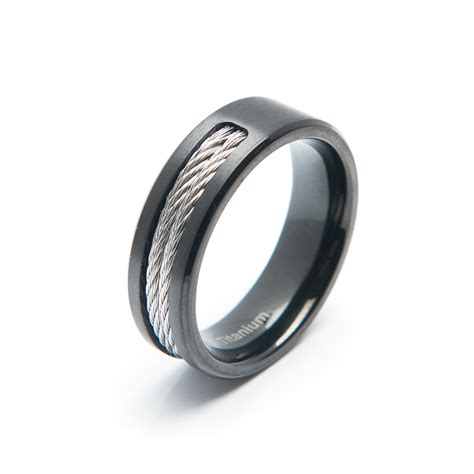 Titan Ring by Titanium Ring Vii Size 9 Titan Rings Touch Of Modern