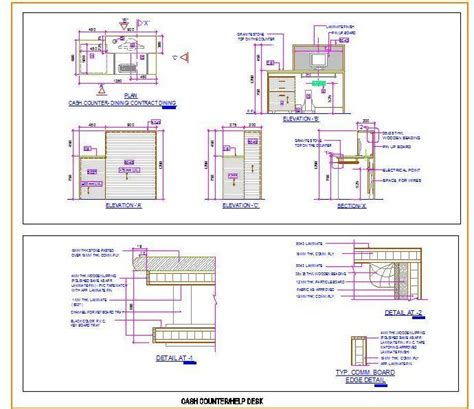 Help Desk Plan by Counter Help Desk Design Plan N Design