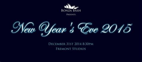 new year gala 2015 bonza bash presents seattle new year s 2015 gala