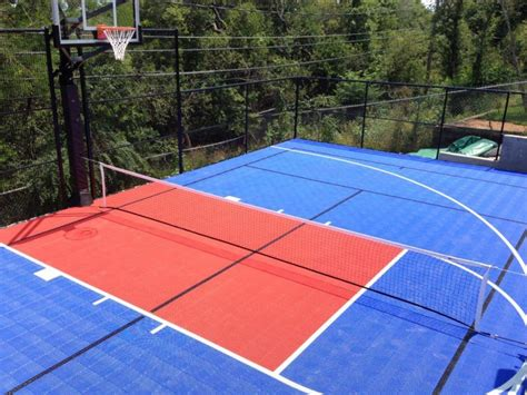 backyard basketball court tiles outdoor basketball court flooring ultrabasesystems 174