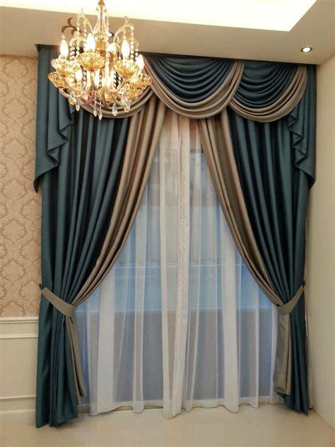 langsir terbaru swag curtains and window treatments on pinterest