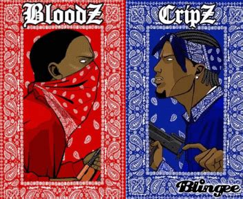 crip color crip vs bloodz picture 32215196 blingee