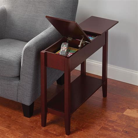 sofa end tables with storage narrow coffee table with storage coffee tables in 2019