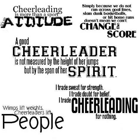 printable cheerleading quotes cheerleading quotes for flyers quotesgram