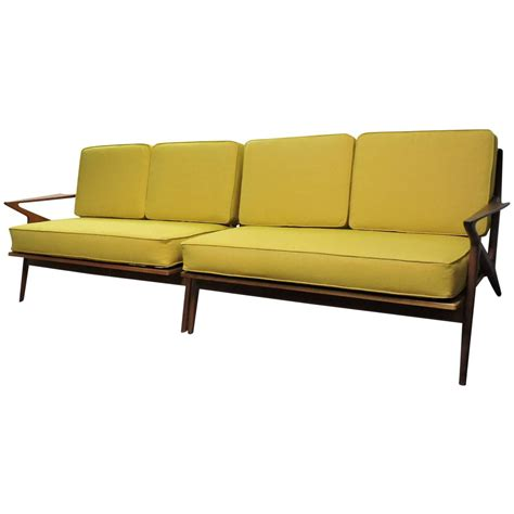 Mid Century Sectional Sofa Sofa Mid Century Modern Poul Z Sectional Sofa For At 1stdibs Thesofa