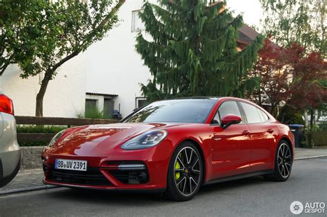 porsche panamera red there s no way you can miss a red porsche panamera turbo s