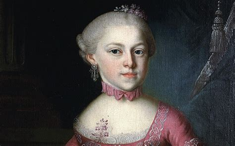 biography of maria anna mozart mozart s sister composed works used by younger brother