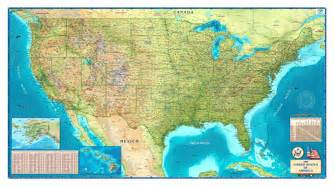 map of us decorative us map