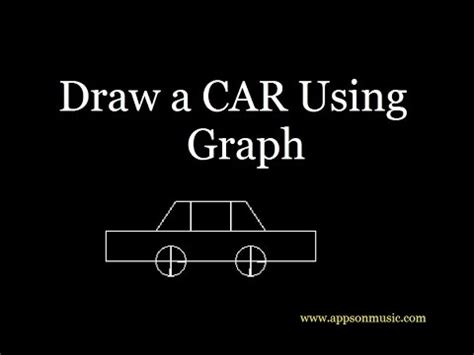 graphics design using c c program for graphics how to draw a car diagram using