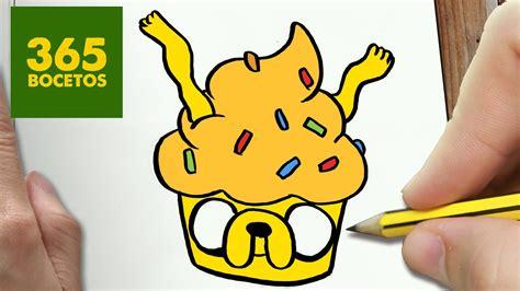 imagenes de animales kawaii 365bocetos como dibujar jake cupcake kawaii paso a paso dibujos