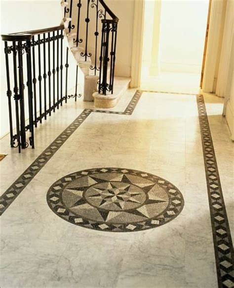 Foyer Tile Design Foyers Entry Flooring Idea Medici Mosaic Motif By