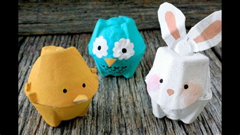 manualidades hacer manualidades con cart n de huevos manualidades de carton de huevo youtube