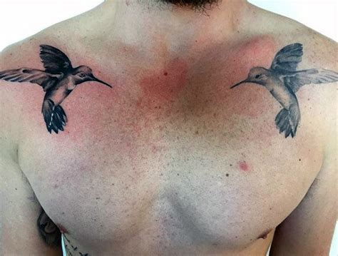 80 hummingbird tattoo designs for men winged ink ideas