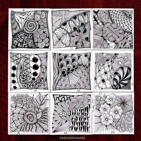 pattern doodles app 69 best images about zentangle vasilisinamari on pinterest