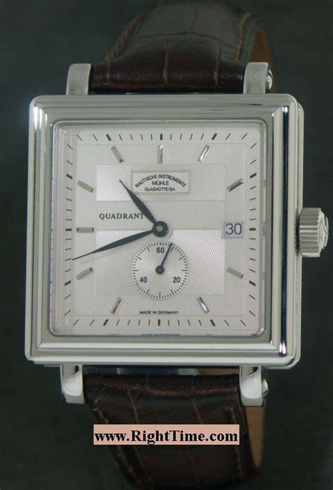 Swiss Army Sa 2235 Gold White Ceramic muhle glashutte quadrant automatik m1 30 35lb pre owned mens watches