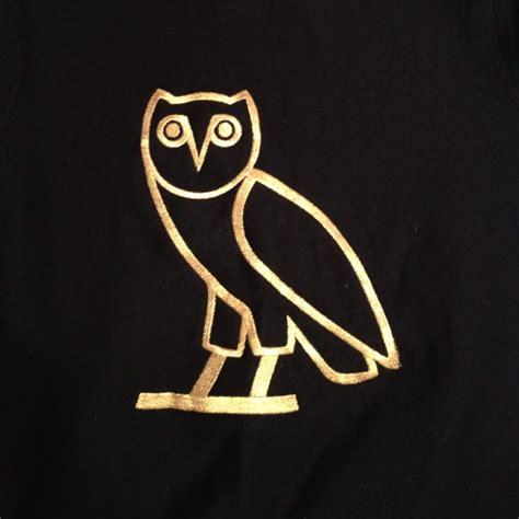 drake owl tattoo ovo owl sticker gold silver 1 3 owl